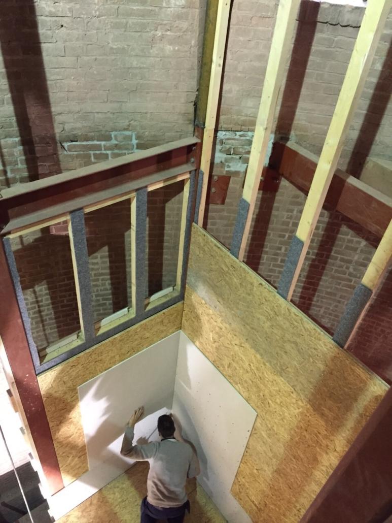 voortgang watertoren Utrecht